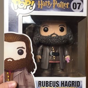 Harry Potter hagrid funky pop
